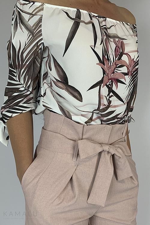 Bluzka w lilie