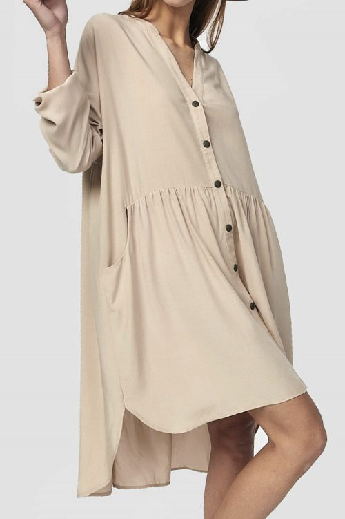Oversize-Blusenkleid