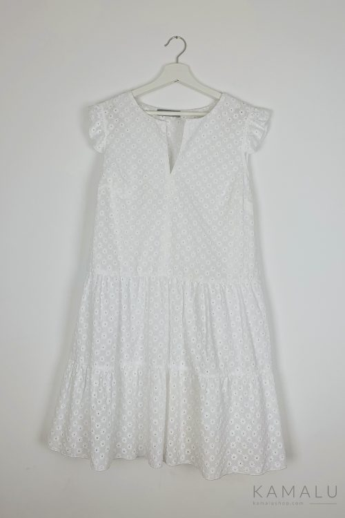 Sukienka ażurowa bez rękawów