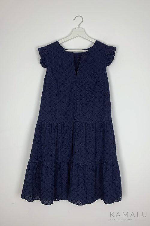 Ażurowa sukienka bez rękawów