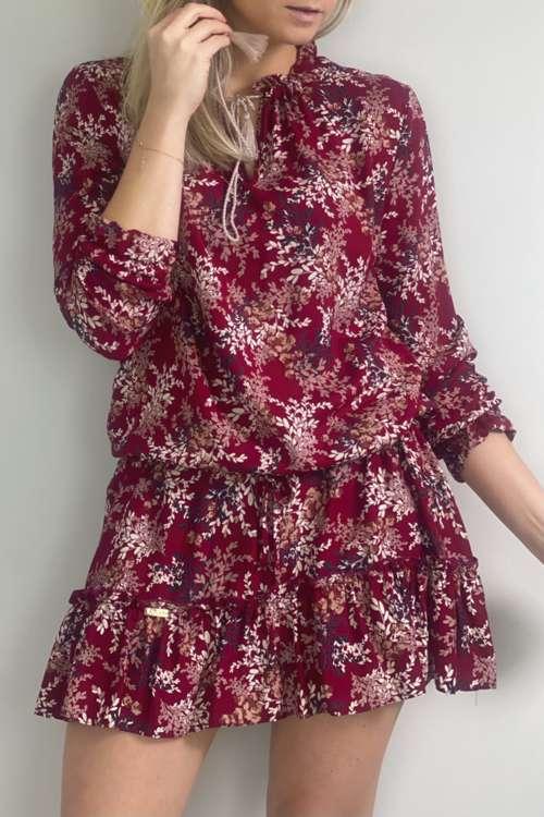 Sukienka Dalla- czerwona