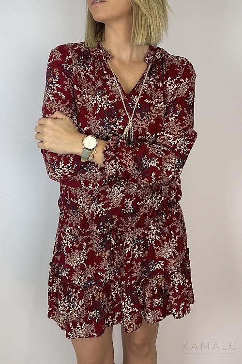 Sukienka czerwona Dalla