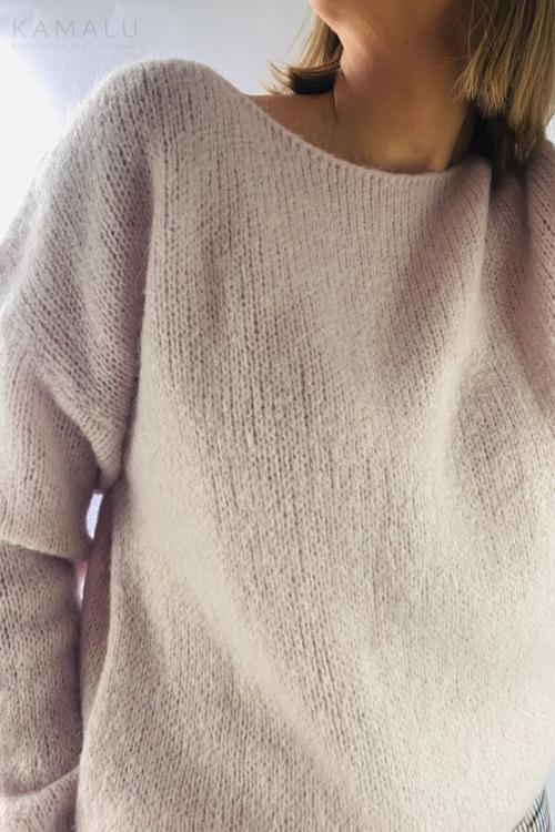 Sweter Rossber jasny róż