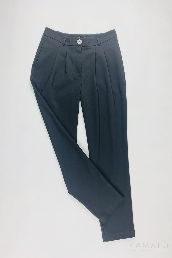 Graphitblaue Anzughose für Damen
