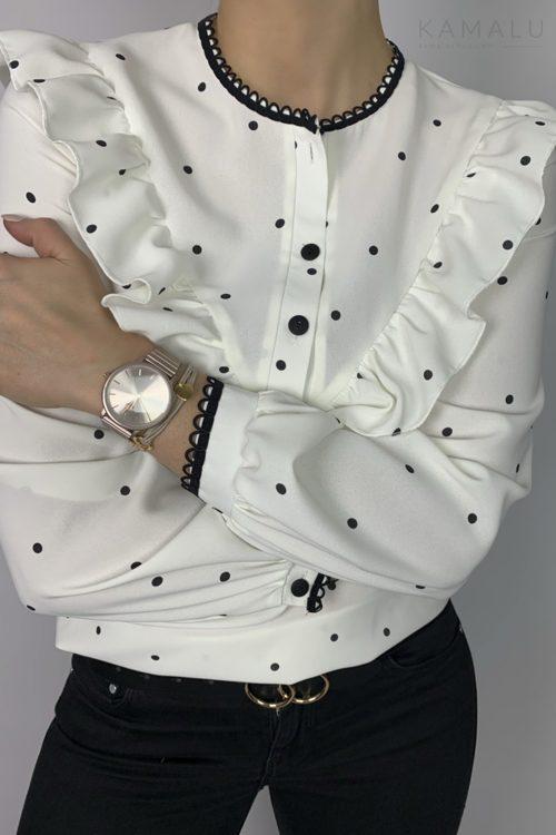 Bluzka w groszki