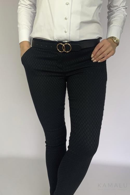 Spodnie Kama- czarne