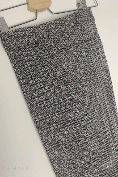 Spodnie Kama- z wzorem
