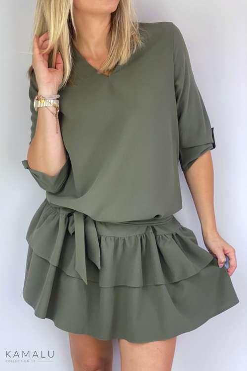 Sukienka Juki - zielona