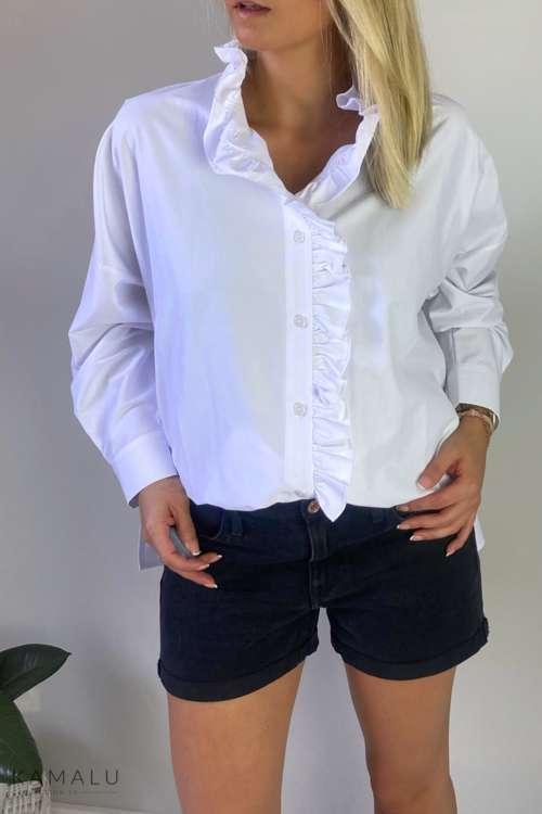 Koszula oversize - biała