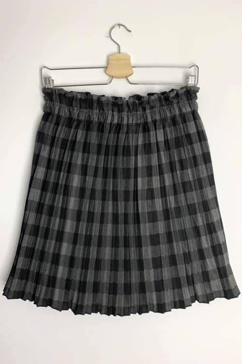 Spódnica plisowana- czarna