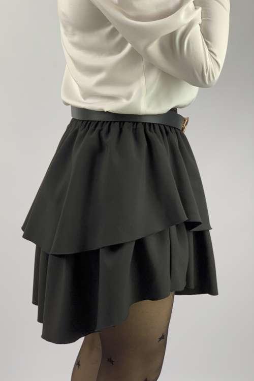 Spódnica rozkloszowana- czarna