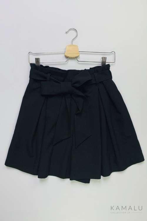 Spodenki paperbag- czarne