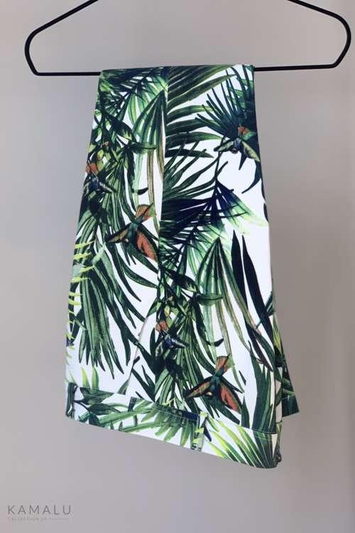 Spodnie Kama - liście