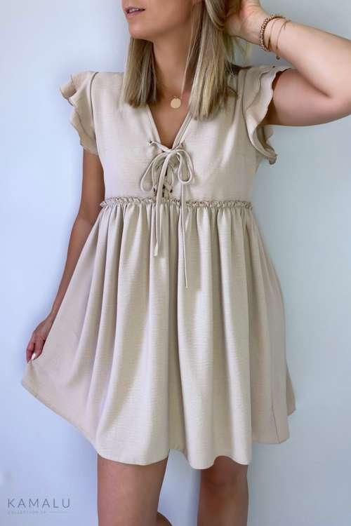 Sukienka Mella - beż