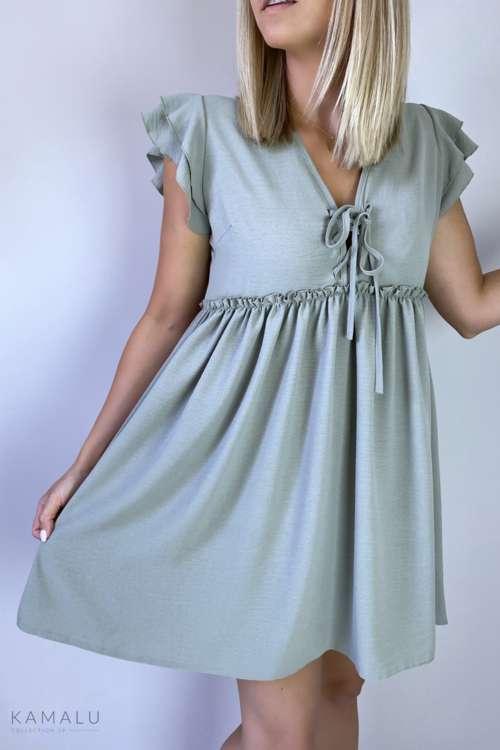 Sukienka Mella - khaki