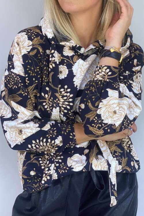 Bluza Edith - złoty print