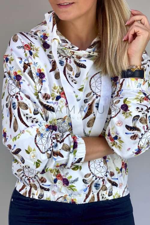Bluza Olle - kolorowy print