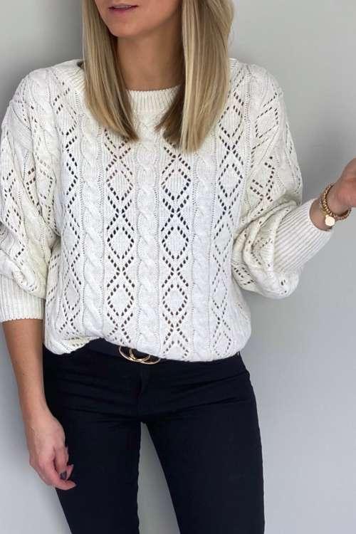 Sweter AJA-wanila