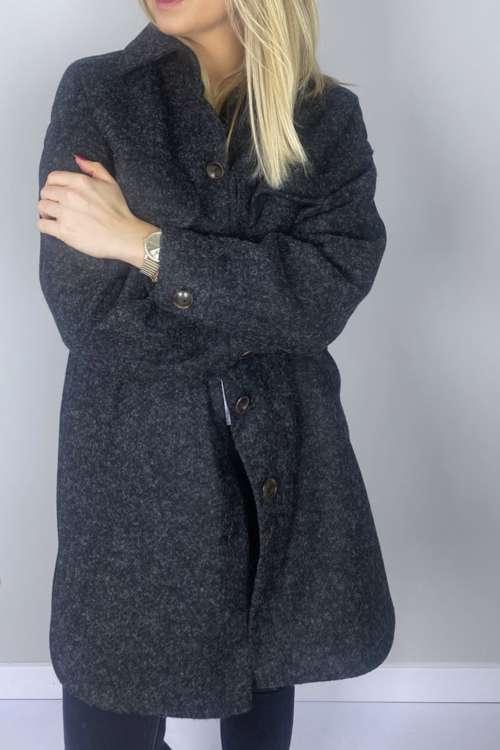 Długa kurtka koszulowa