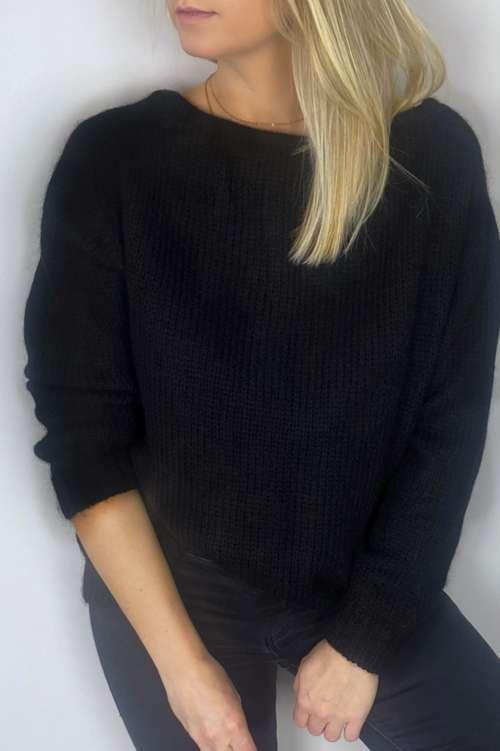 Sweter Lorella - czarny